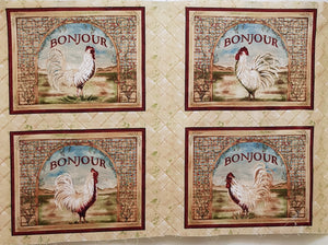 Poultry in Motion Panel (75x55cm) - Lori's Fabrics & Quilts