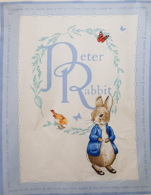 Peter Rabbit Cot Panel (112x90cm) - Lori's Fabrics & Quilts