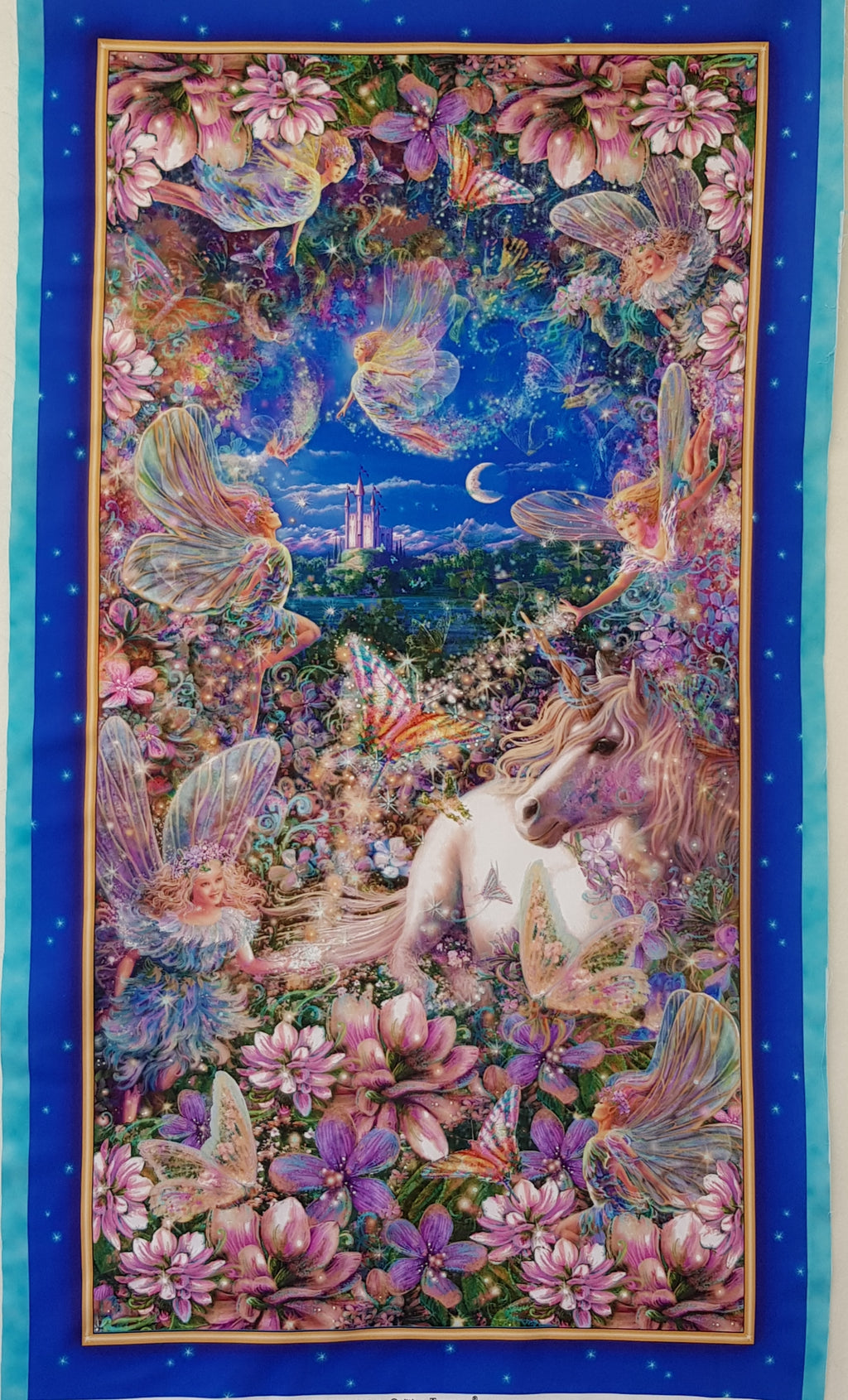 Unicorn & Fairy Panel - Dreamland (60x102cm) - Lori's Fabrics & Quilts