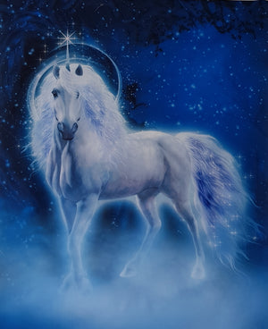 Unicorn Mystic Magic Panel (90x108cm) - Lori's Fabrics & Quilts