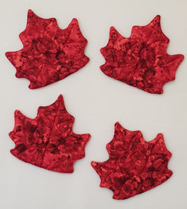 Maple Leaf Mug Rug (set of 4) - Lori's Fabrics & Quilts