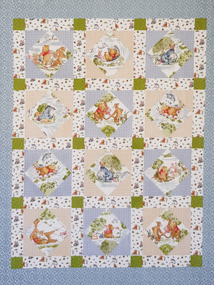 Licensed Winnie the Poo panel (90×110cm approx) - Lori's Fabrics & Quilts