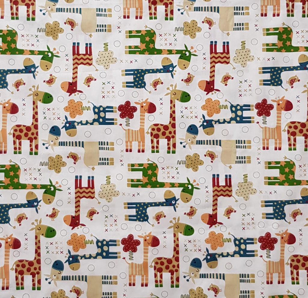 Colorful Giraffes (1.5m x 1.0m) - Lori's Fabrics & Quilts