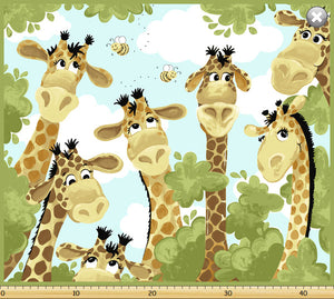 Zoe the Giraffe Playmat (64x90cm) - Lori's Fabrics & Quilts
