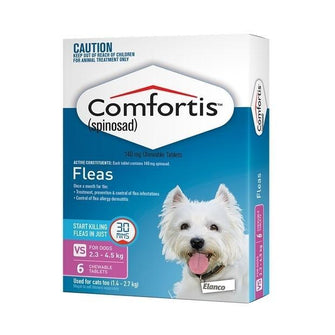 Comfortis Orange - For Dogs 4.6-9 kg 6 Pack