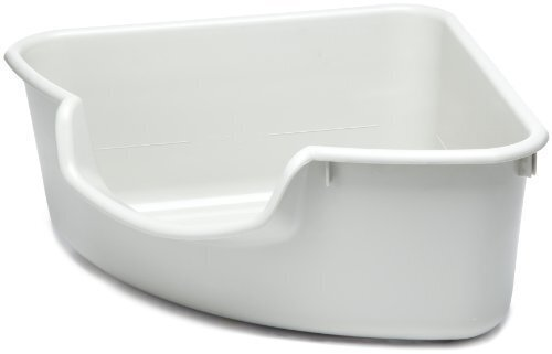 Smartcat Corner Litter Box - Gray
