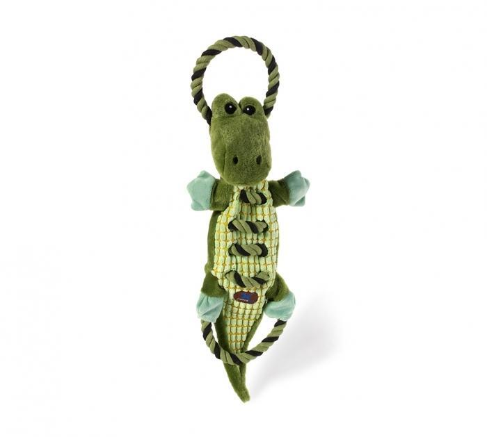 Charming Pet Ropes-A-Go-Go Jungle Gator