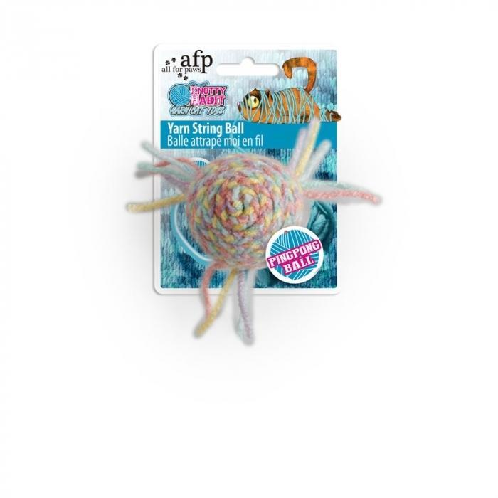 All For Paws (AFP) Knotty Habit Yarn String Ball
