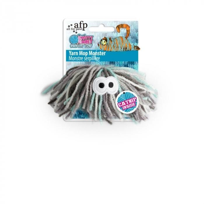 All For Paws (AFP) Knotty Habit Yarn Mop Monster