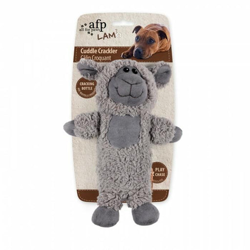 All For Paws Lambswool Cuddle Crackler Toy