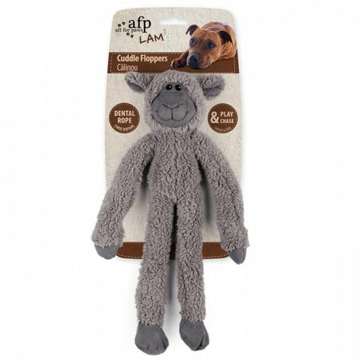 All For Paws Lambswool Cuddle Ropey Floppers Toy For Dogs