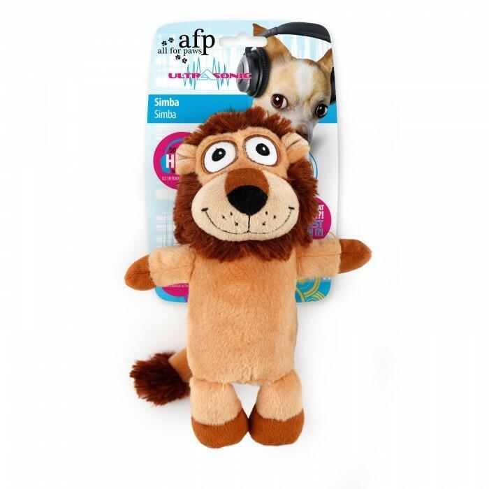 All For Paws Ultrasonic Simba Dog Toy
