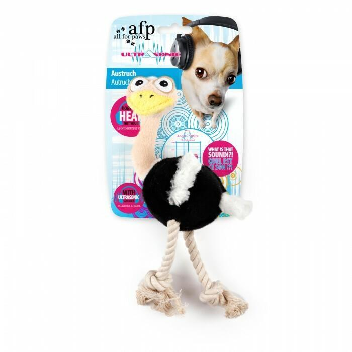 All For Paws Dog Toy Ultrasonic Ostrich