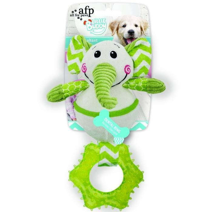 All For Paws Little Buddy Goofy Elephant Dog Toy