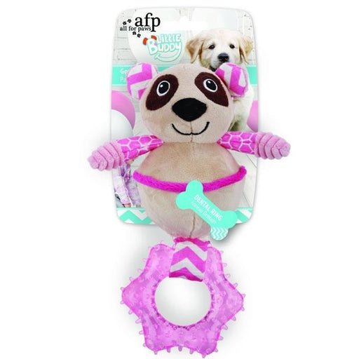 All For Paws Little Buddy Goofy Panda Dog Toy