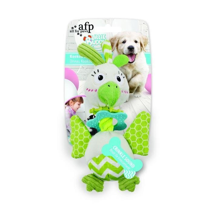 All For Paws Little Buddy Kookoo Bird Dog Toy