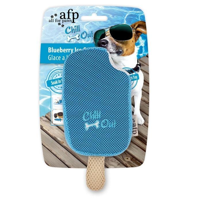 All For Paws Chill Out Blueberry Ice Cream Dog Toy