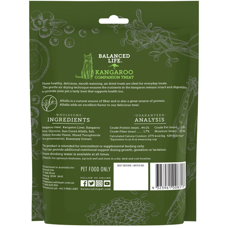 Balanced Life Companion Treats for Cats - Kangaroo 85g