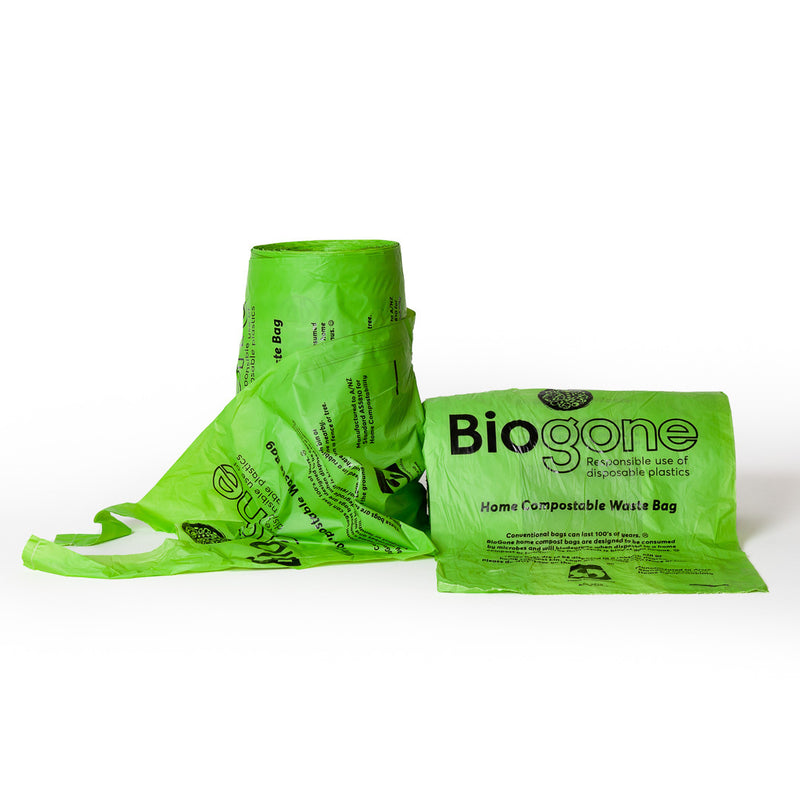 Biogone Biodegradable Waste Bag with Handles - 250 Bags