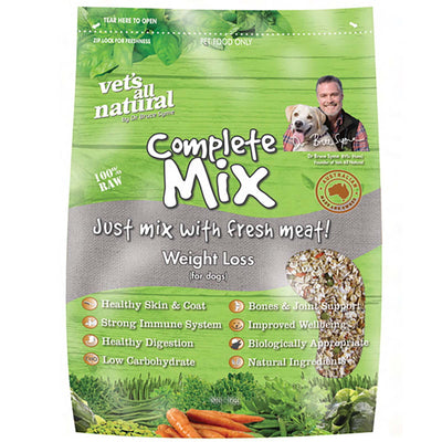 Vets All Natural Complete Mix 15 kg Bag Weight Loss