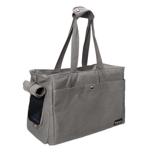 Canvas Pet Tote - Smoke Gray