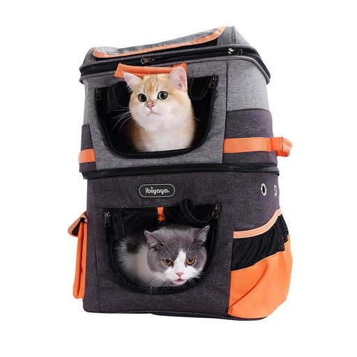 Two-tier Pet Backpack