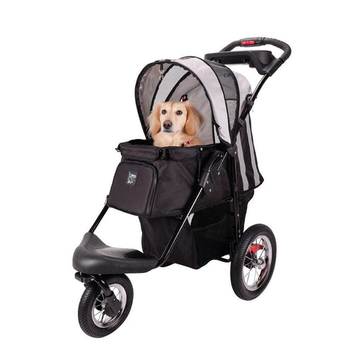 Turbo Pet Jogger with Air Filled Tires - Black