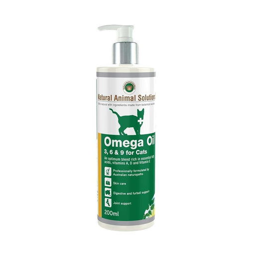 Omega 3,6 & 9 For Cats 200Ml