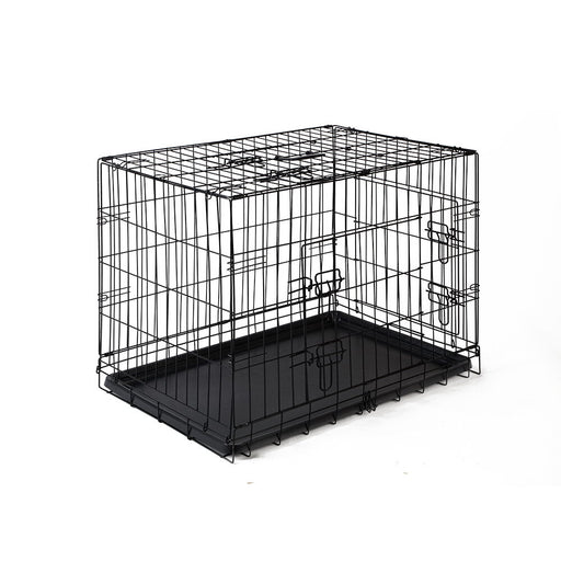 Pet Collapsible Cage-Crate Black - 30in (76.2cm)