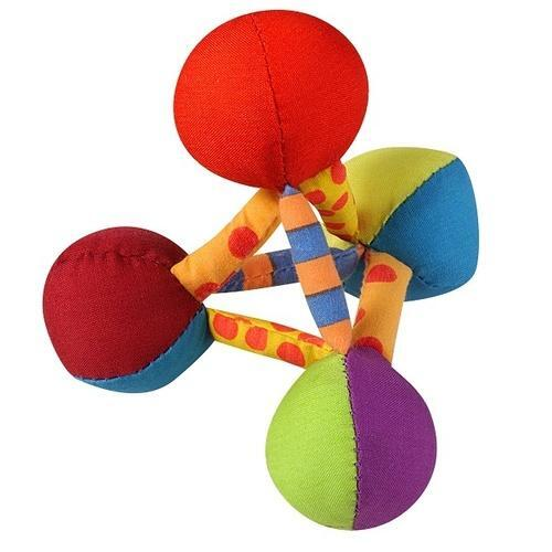 Petstages Mini Plush Pyramid