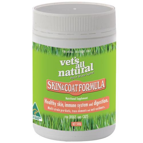 Vets All Natural Skin & Coat Formula 500g