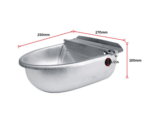 Auto Filling Stainless Steel Water Bowl
