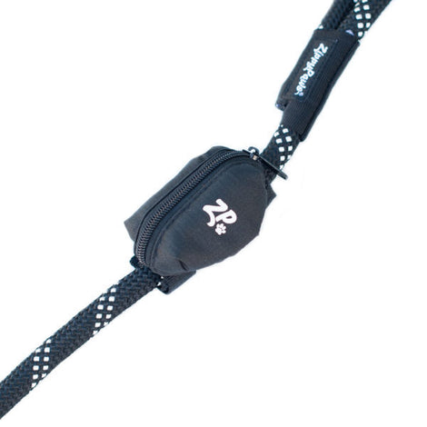 Adventure Leash Bag Dispenser - Volcano Black