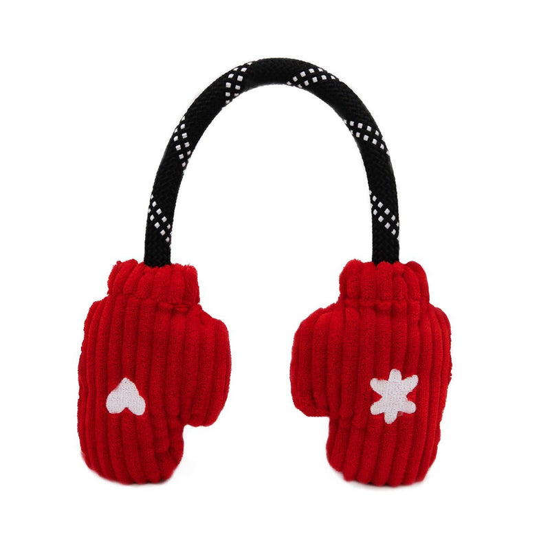 Zippy Paws Holiday RopeTugz - Mittens