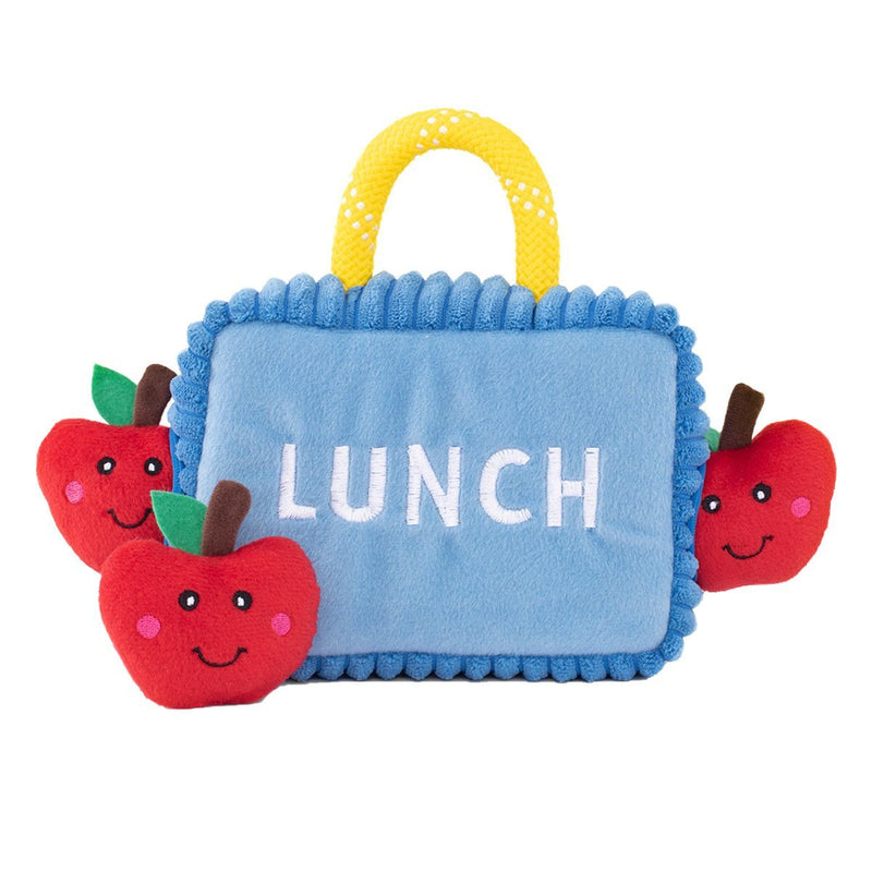 Zippy Paws Zippy Burrow - Lunchbox with Apples