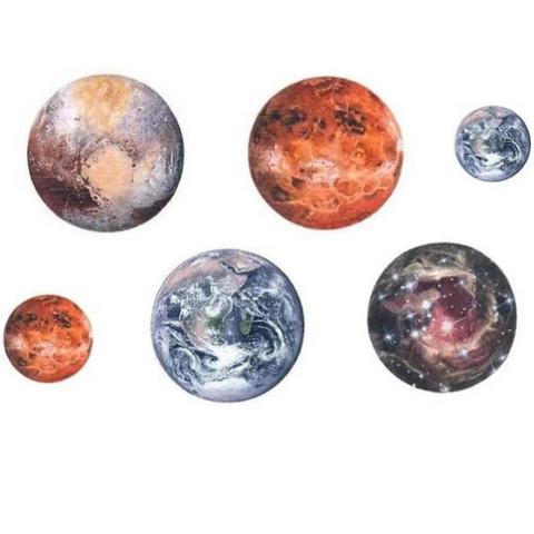 Planet Temporary Tattoos
