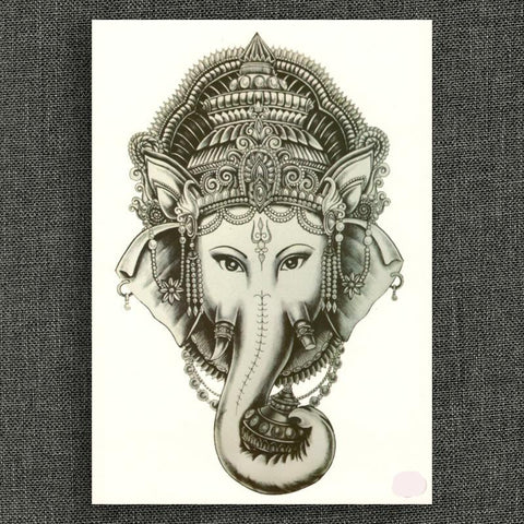 Indian Elephant Tattoo