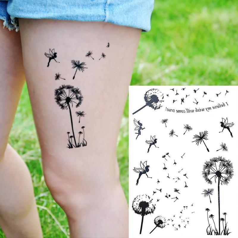 Fairy Flower Tattoo