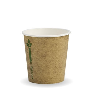 4oz Coffee Cup Single Green Kraft (2000 Piece)