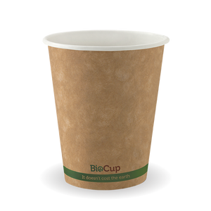 8oz Coffee Cup Single Wall Kraft Brown (1000 Piece)