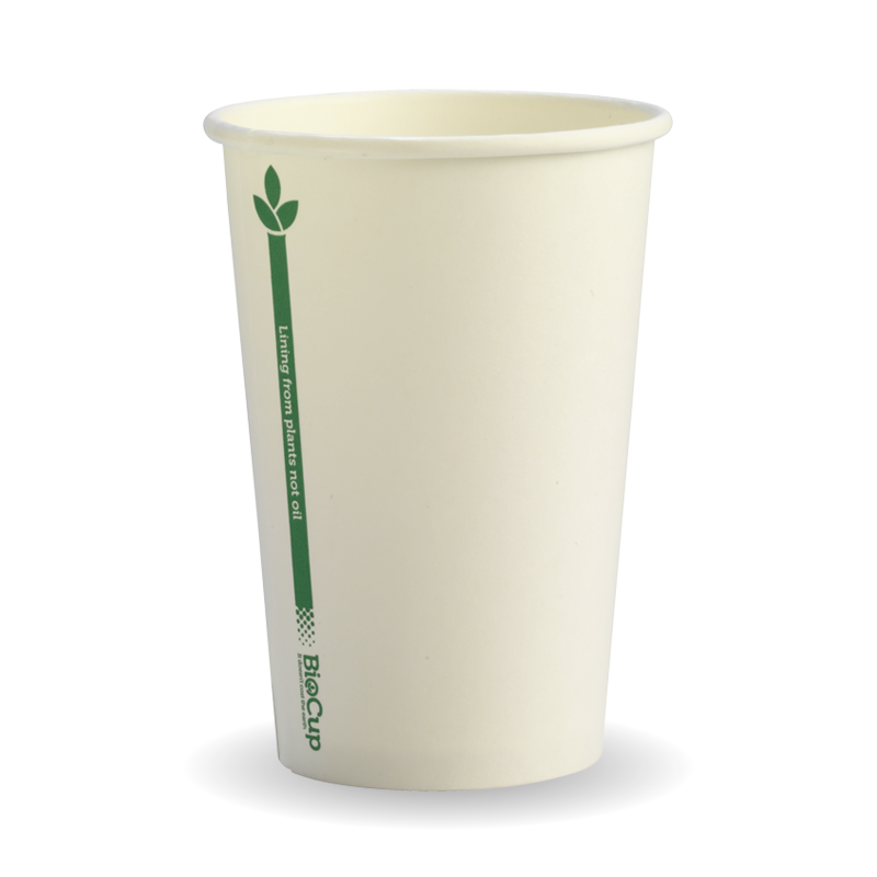 10oz Coffee Cup Single Wall Single Green Line (1000 Piece)