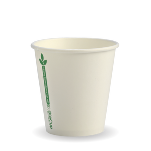 6oz Coffee Cup Single Wall Single Green Line (1000 Piece)