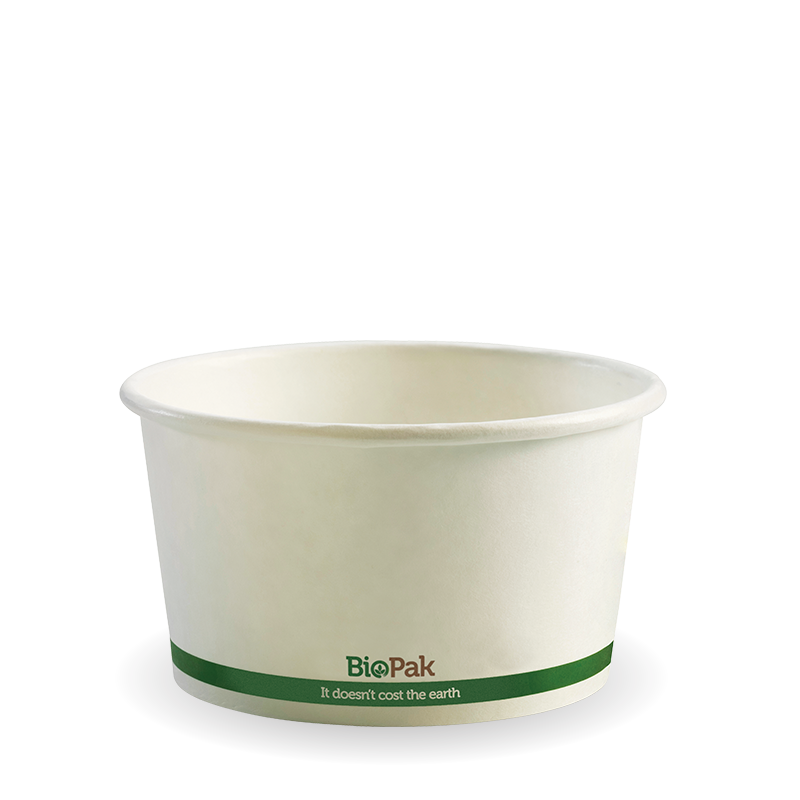 12oz Biobowl White (500 Piece)