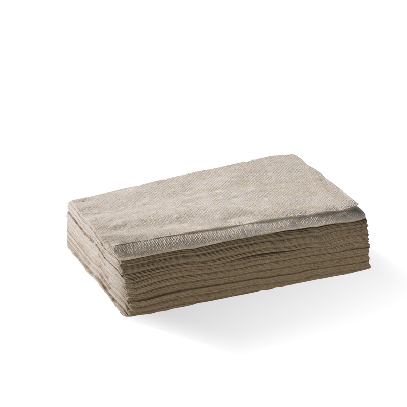 1 Ply Natural Tall BioNapkin (5000 Piece)