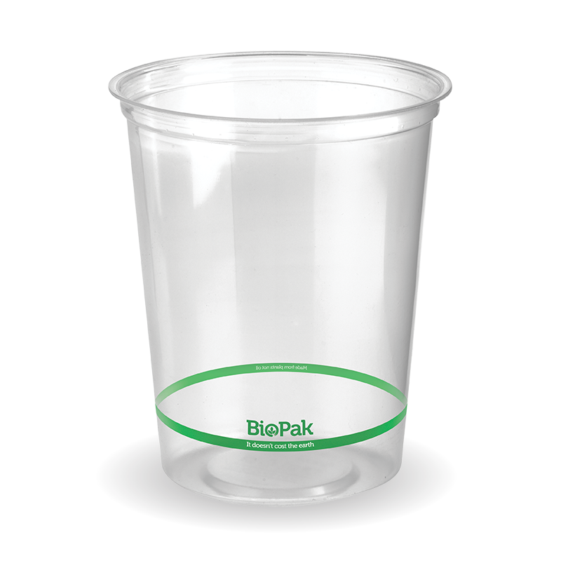 960ml Biodeli PLA Bowl Clear (500 Piece)