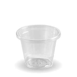 30ml Bioplastic (PLA) Sample Cup Clear (3000 Piece)
