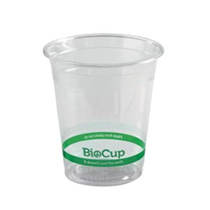 200ml Bioplastic (PLA) Cold Cup Clear (2000 Piece)