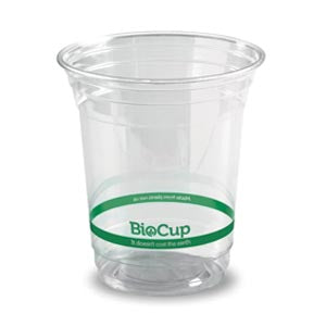 420ml Bioplastic (PLA) Cold Cup Clear (1000 Piece)