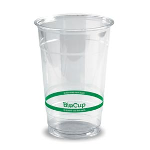 500ml Bioplastic (PLA) Cold Cup Clear (1000 Piece)