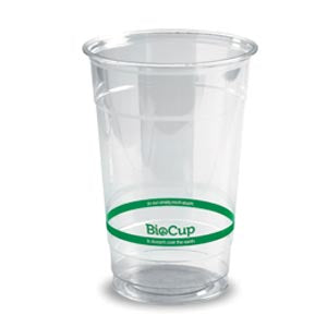 600ml Bioplastic (PLA) Cold Cup Clear (1000 Piece)